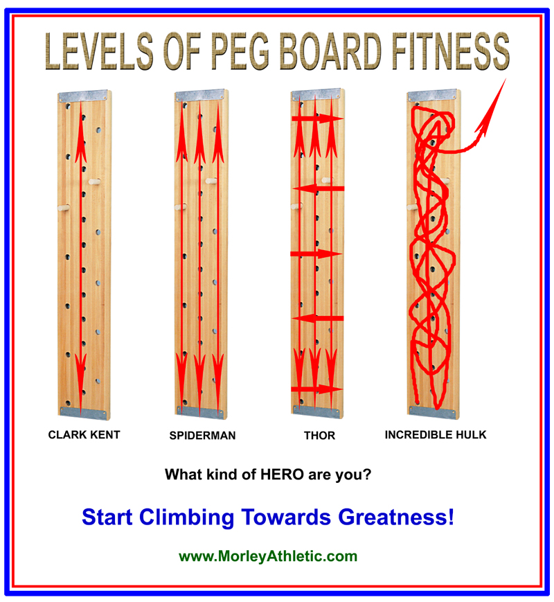 Climbing Peg Boards Make You Super
