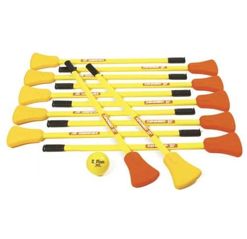 Broomball equipment
