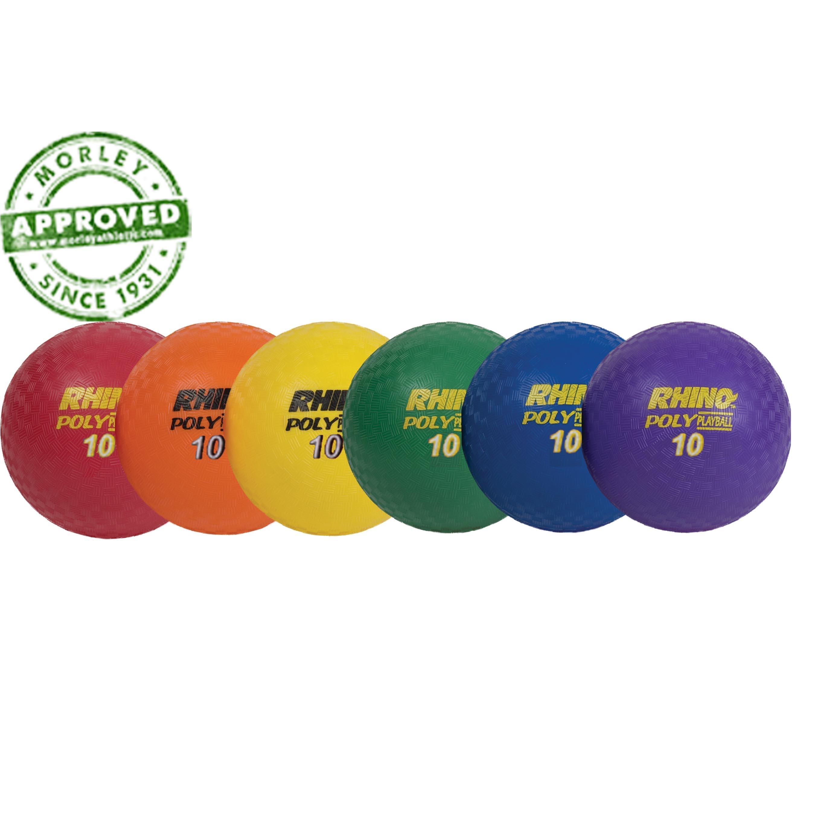 "10"" Rhinoâ® Poly Rotationally Molded Playground Ball"