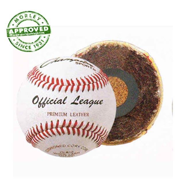 Champion Sports OLB10 Premium Leather Official League Baseballs NFHS (Dozen)
