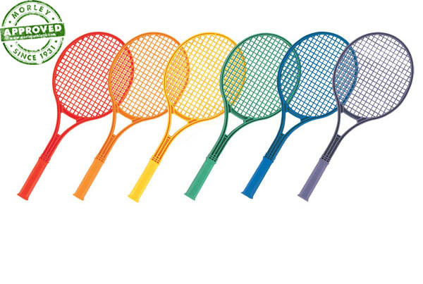 Champion Sports Plastic Tennis Rackets Set Of 6