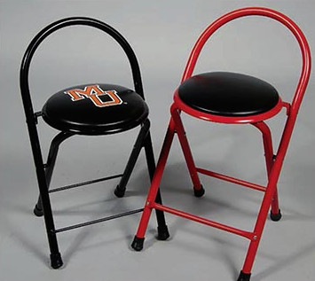 Custom Folding Locker Room Stools / Time Out Stools