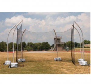 Gill High School Portable Discus Cage