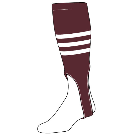 in_stock_triple_stripe_baseball_stirrups_maroon_with_white_stripes