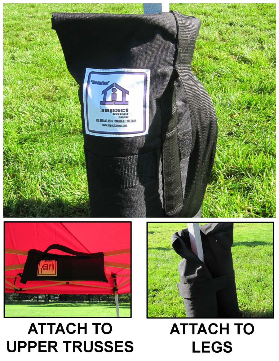 INSTANT CANOPY WEIGHT BAGS SET OF 4