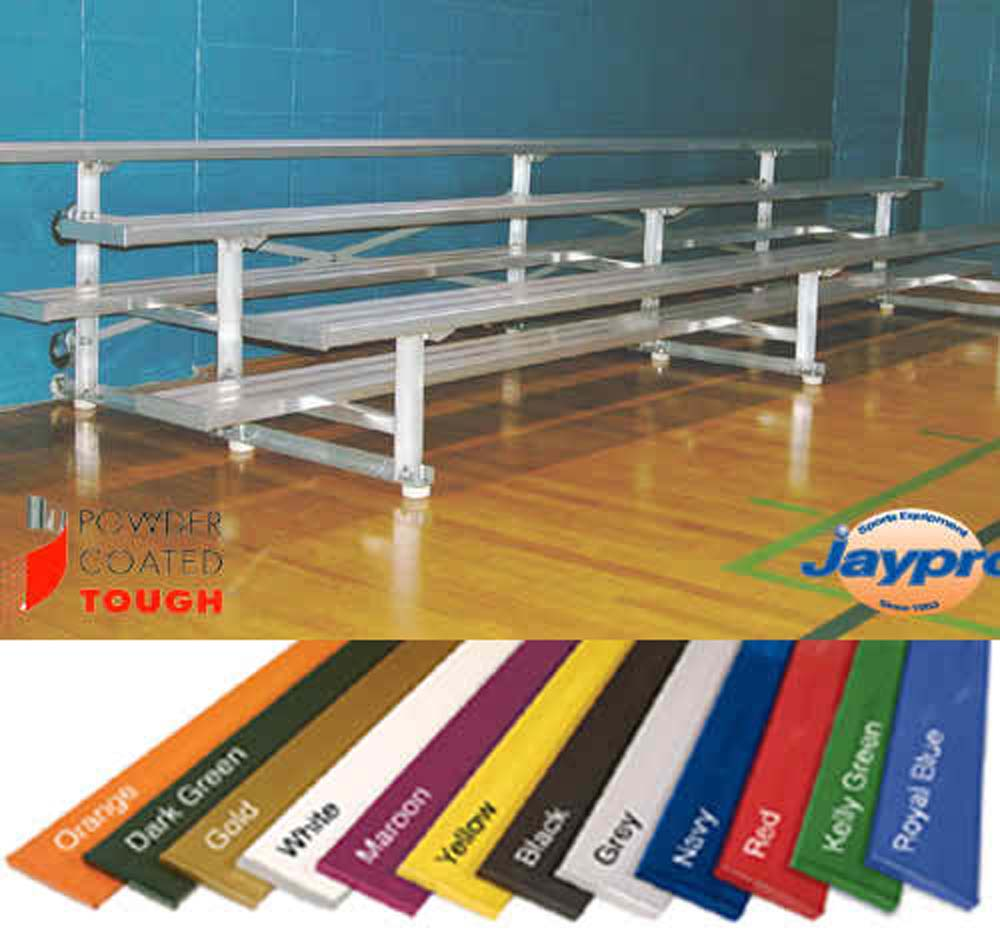 Jaypro Tip-And-Roll Bleachers