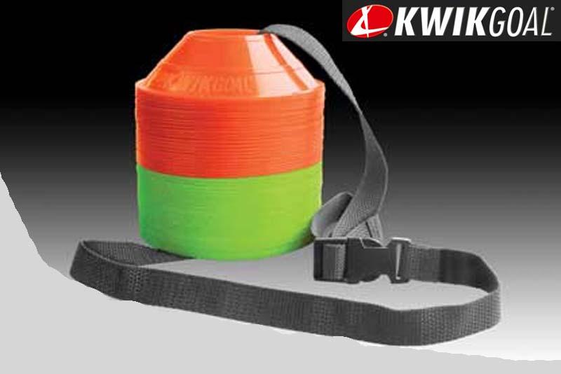 Kwikgoal Mini Disc Cone Set Pack Of 50 - 25 Per Color (2)