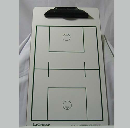 Men's LacrosseDry Erase Coaching Board
