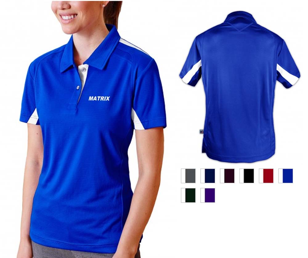 Pro Celebrity Matrix Ladies Polo Shirt