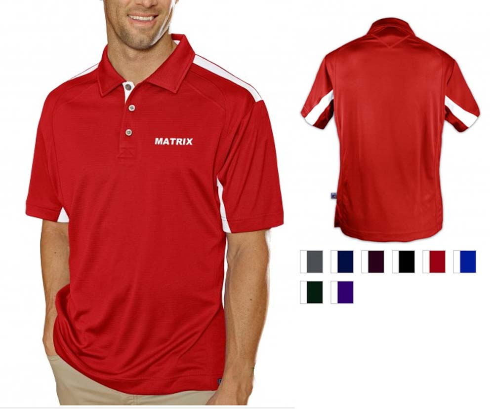Pro Celebrity Matrix Men's Polo Shirt