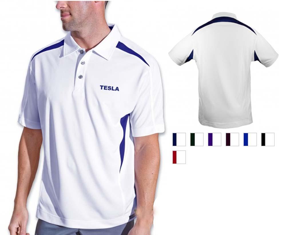 Pro Celebrity Tesla Men's Polo Shirt