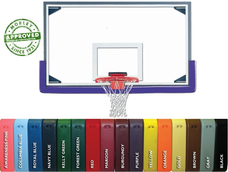 Pro Mold Cushion Edge Basketball Backboard Padding (Sold As Each)