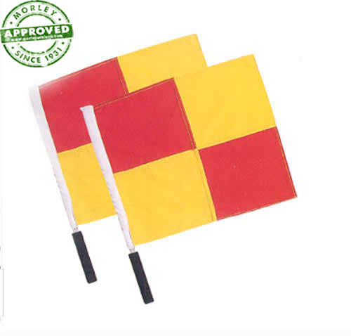 Pro Style Linesman Flags Pair