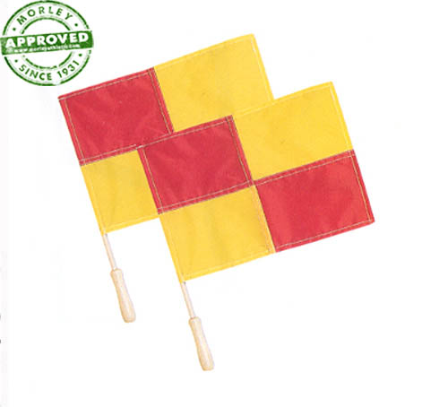 Regulation Linesman Flags Pair