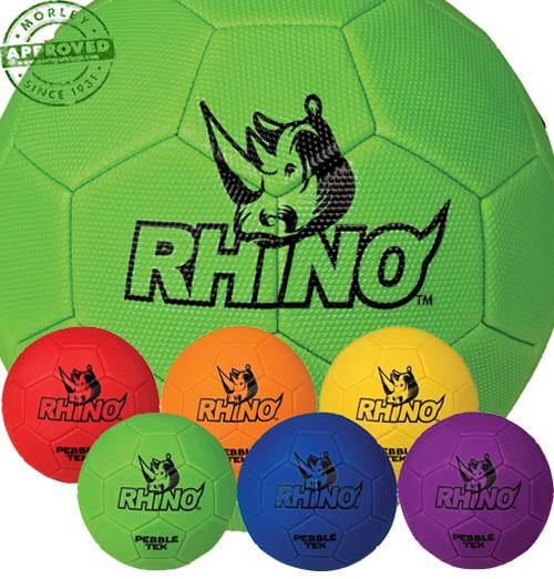Rhino Pebble Tek Soccer Ball Set