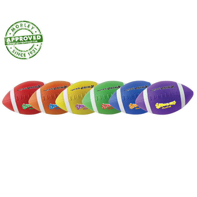 Rhino Skin Super Squeeze Football Set Of 6