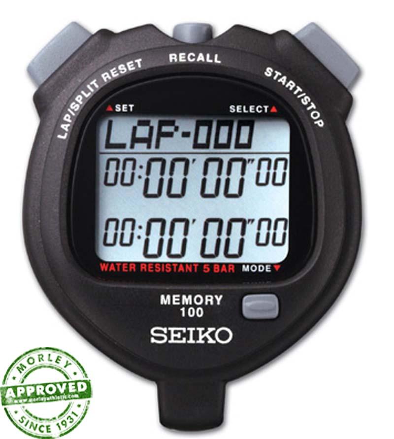Seiko S056B 100 Memory Stopwatch