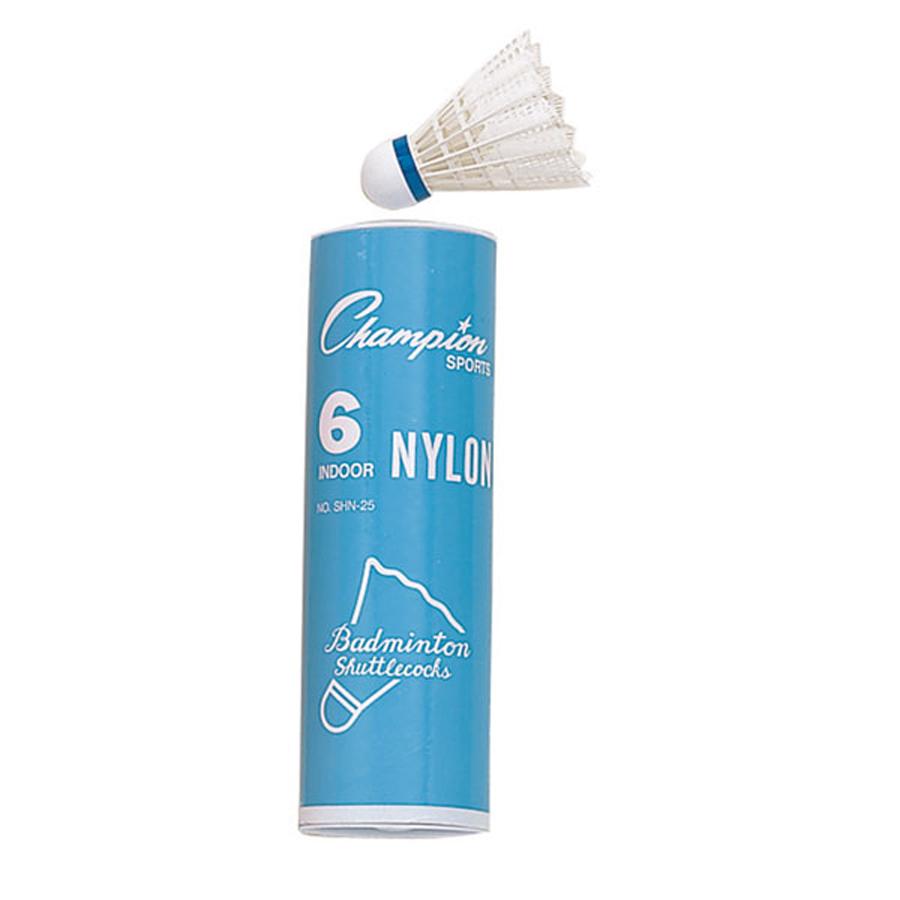 shn25_nylon_indoor_badminton_shuttlecocks_tube_of_6