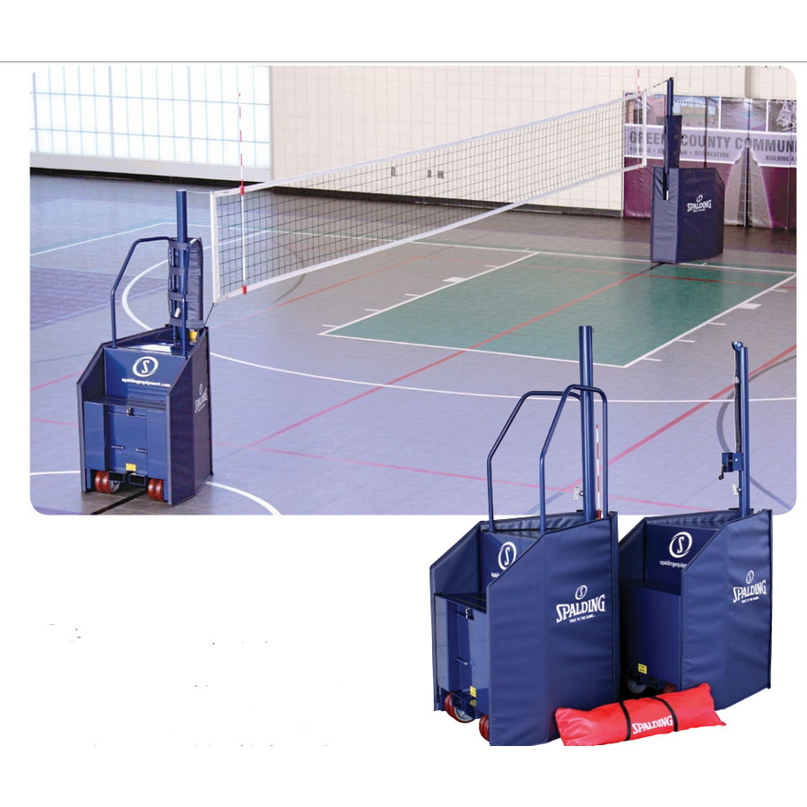 spalding_freestanding_one_court_volleyball_system