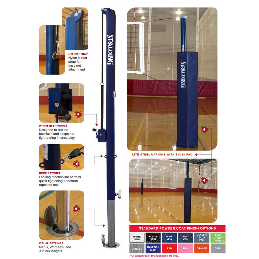 spalding_two_court_lite_steel_volleyball_system