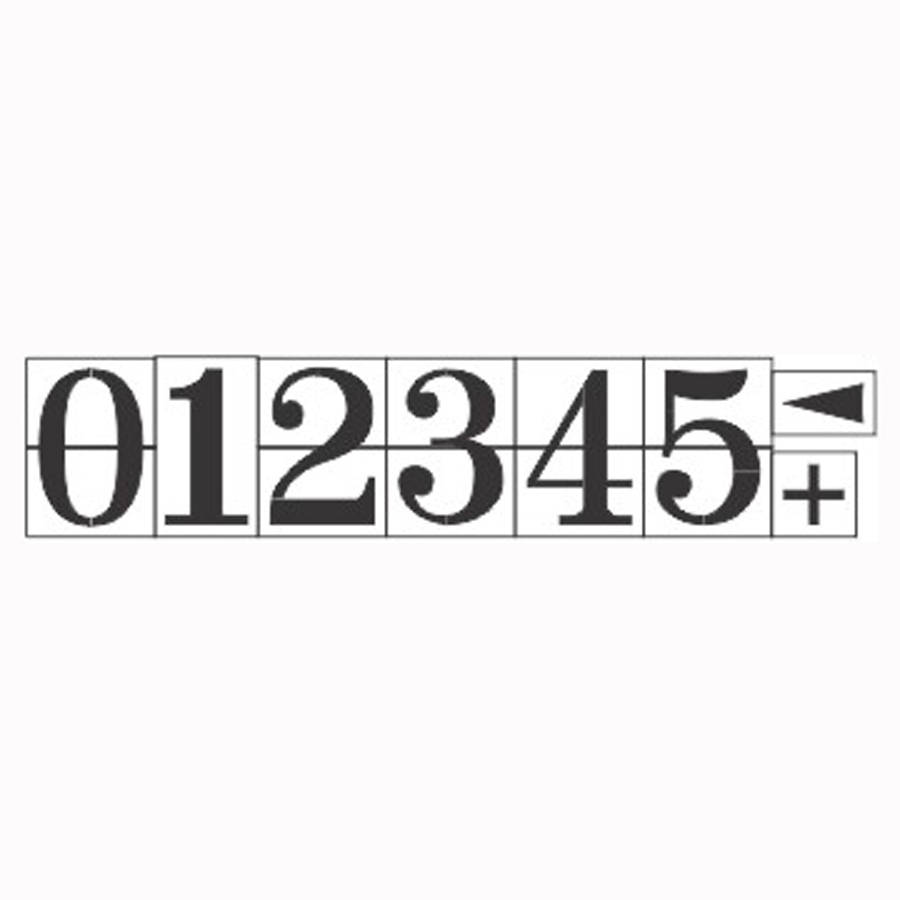 stencils___6__pro_style_number_kit_1_16____6__x_4_