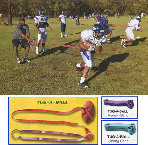 Tug-A-Ball Football Trainer