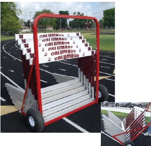 Two-Wheel Hurdle Cart