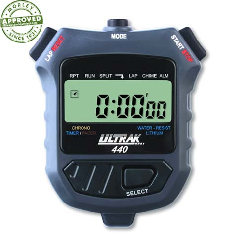Ultrak 440 Lap Or Cum Timer