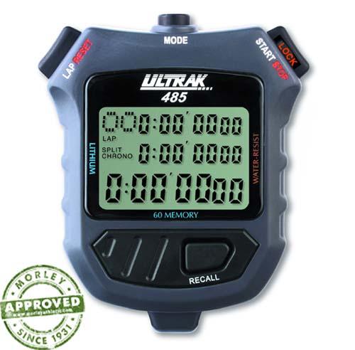 Ultrak 485 - 60 Lap Memory Stopwatch