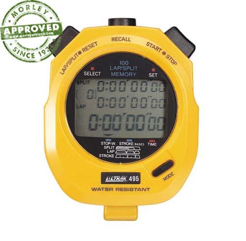 Ultrak 495 100 Lap Memory Stopwatch