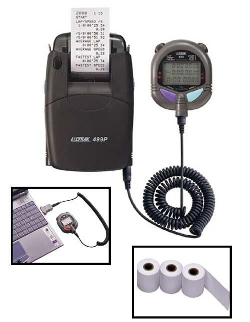 Ultrak 499 Stopwatch With Printer Set Up