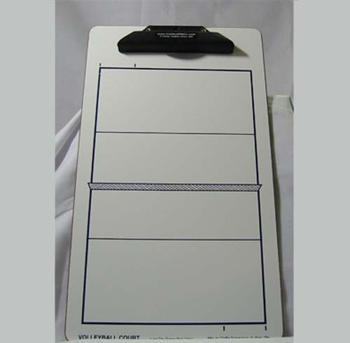 Volleyball Dry Erase Coaching Board