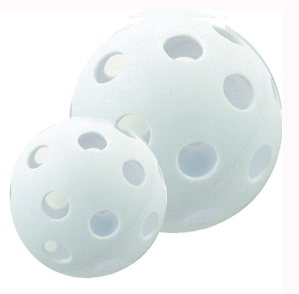 White Plastic Balls With Holes