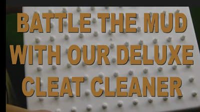 Deluxe Cleat Cleaners