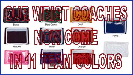 Wrist coach colors