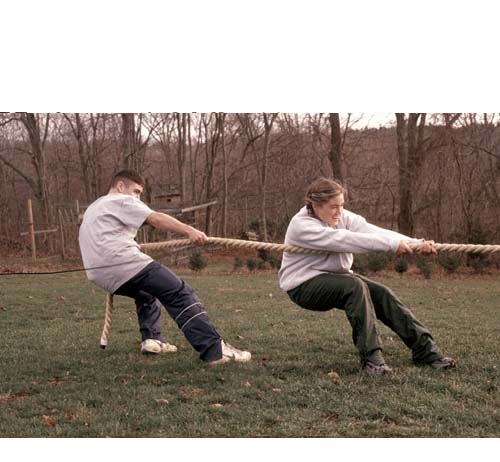 """Best Price On Made In USA 1-1/2"""" Competition Tug Of War Ropes"""
