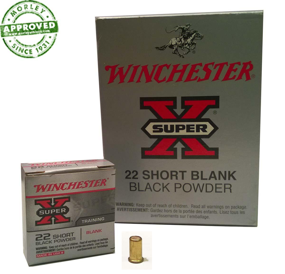 Buy Winchester 22 Cal Black Powder Blanks