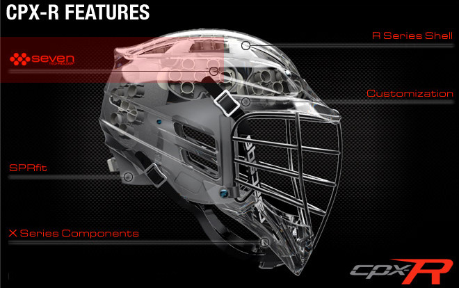 Cascade Cpx R Lacrosse Helmet Team Prices Morley Athletic