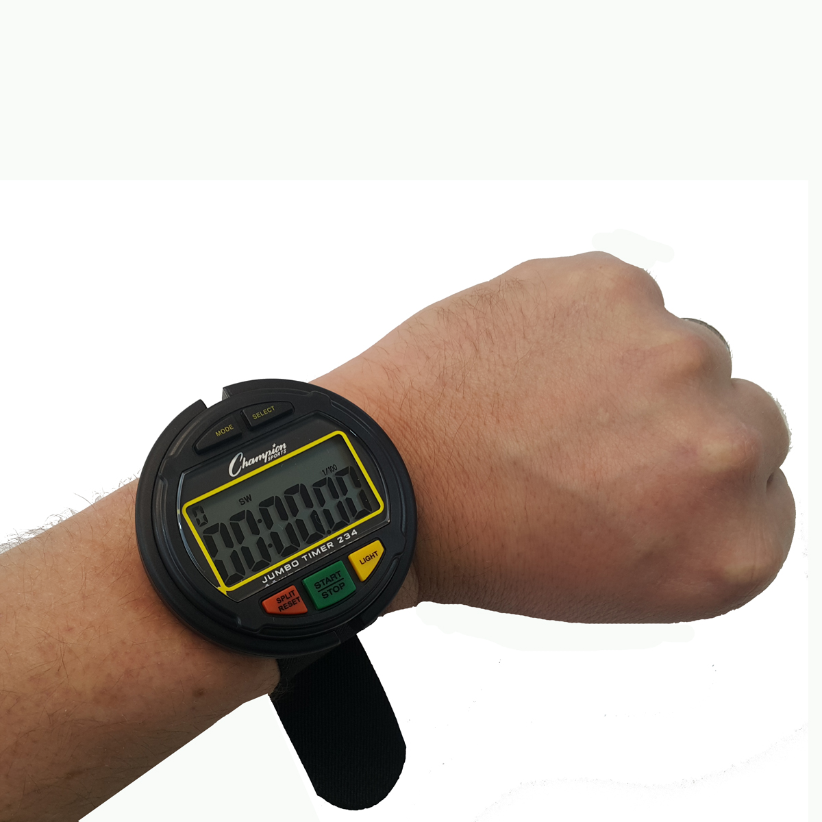 Champion Sports Referee Jumbo Wrist Stopwatch Look Here
