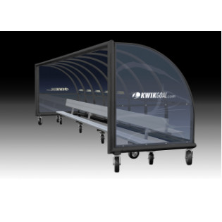 Team Pricing On Kwik Goal Custom Elite Shelter Bench With Back Portable Only
