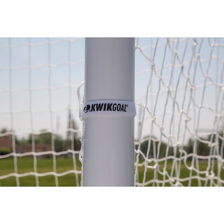 Pack of 30 White Kwik Goal Net Attachment Straps
