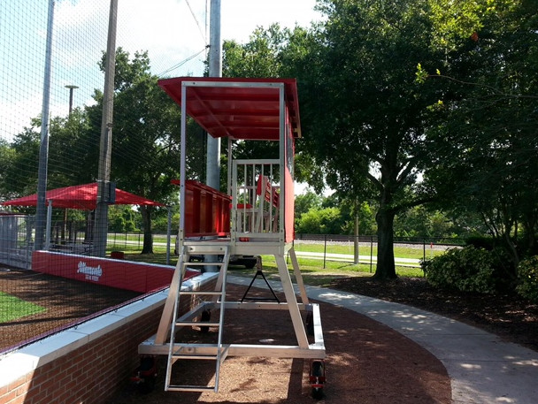 Portable Press Box Coaching Or Filming Tower 1 Online