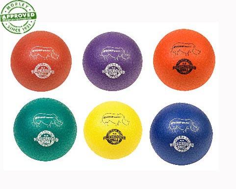 Rhino Skin Inflatable Playground Balls Set Of 6