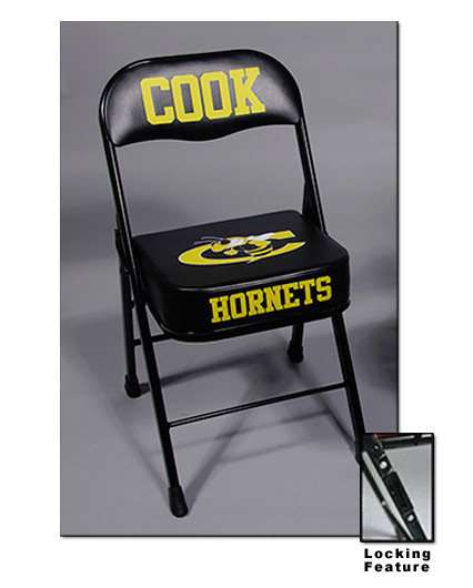 Standard Height Deluxe Basketball Sideline Chair With Ganging