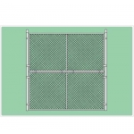 10' X 10' Baseball Backstop Panel