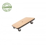 "12"" Wood Scooter Set Of 6"