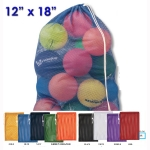 "12"" X 18"" Heavy Duty Mesh Draw String Bags"