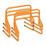 12 Inch Mini Pro Weighted Training Hurdles Set Of 6