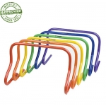 12 Inch Rainbow Speed Hurdle Set Of 6