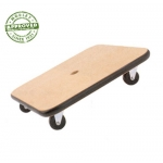 "16"" Wood Scooter Set Of 6"